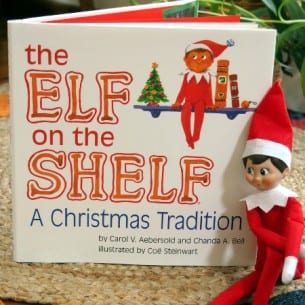 Christmas Elf on the Shelf