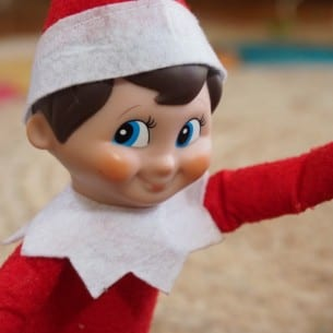 The Elf on the Shelf Selfie