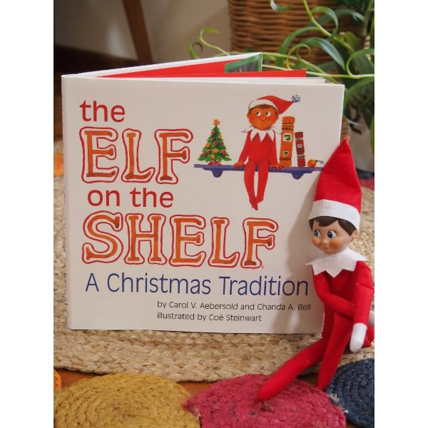 Our Christmas Elf on the Shelf