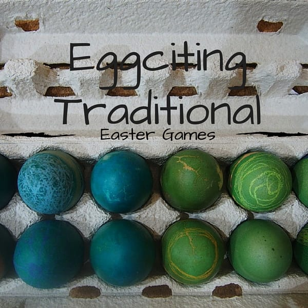 Eggciting traditional Easter games for kids - There's more to Easter games than an Easter egg hunt with these 4 fun Easter ideas for kids and families to play.