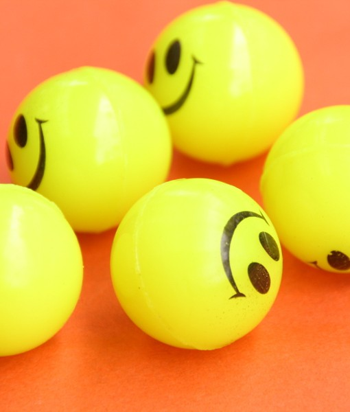 Yellow Bouncy Balls