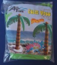Inflatable palm tree decoration for a boys or girls pirate themed birthday party.