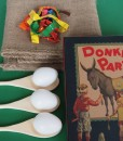 Our Timeless Party Games in a Box is the ideal party pack for kids birthday parties at home. Traditional boys and girls party games are a favourite.