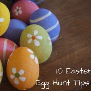 10 Easter Egg Hunt Tips