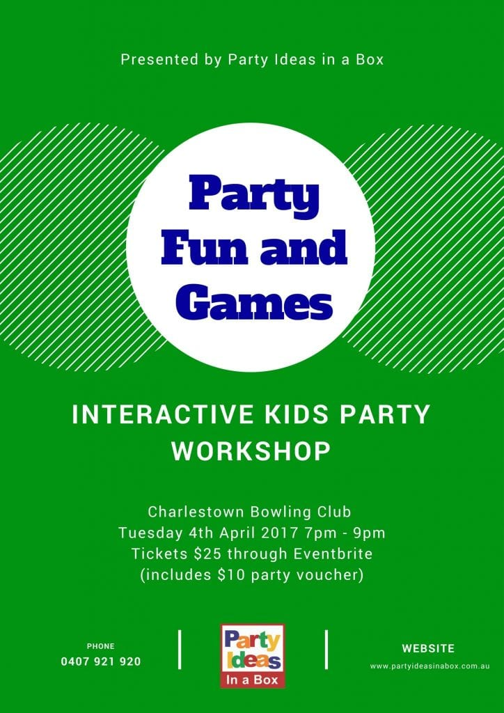 Party Fun And Games - Interactive Kids party Workshop
