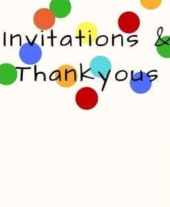 Invitations & Thankyous