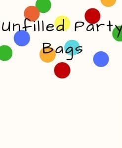 Unfilled Party Bags