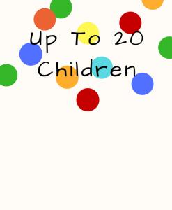 Up To 20 Children